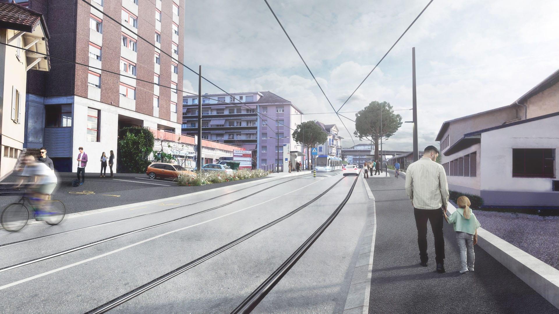 Pont-Bleu sol projet