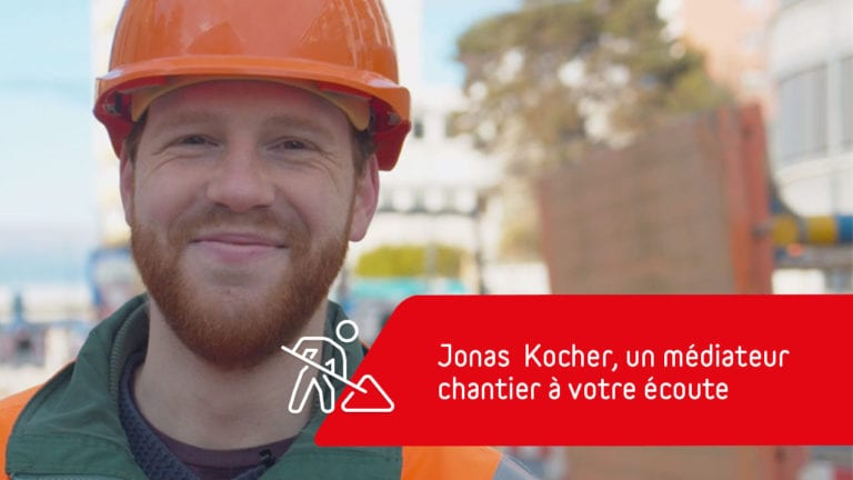 Jonas Kocher, médiateur